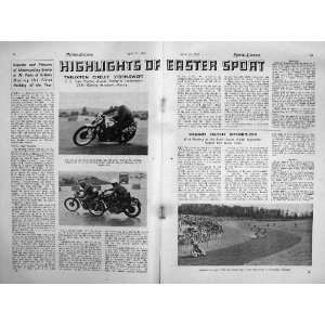 MOTOR CYCLING MAGAZINE 1950 ROYAL ENFIELD BULLET LUCAS