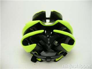 2012 Giro Aeon Highlight Yellow/Black Bicycle Helmet   Large   NEW