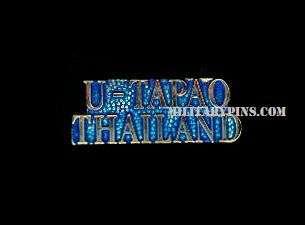 USAF UTAPAO THAILAND (script) Military Lapel / Hat Pin