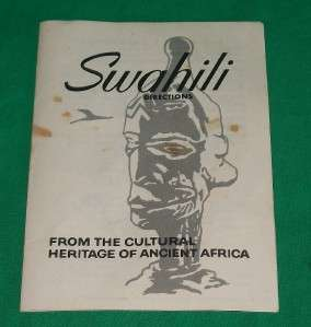 SWAHILI AFRICAN TRIBE TRIBAL BOARD GAME AFRICA OLD