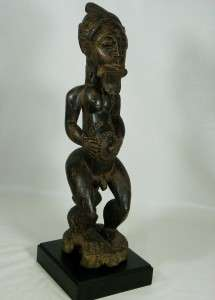 Superb African Tribal Art BAULE Ancestor Figure Collectible /Amazing
