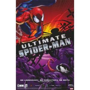 Ultimate Spider Man Video Game Movie Poster (11 x 17