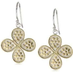 Anna Beck Designs Gili Clover 18k Gold Plated Earrings