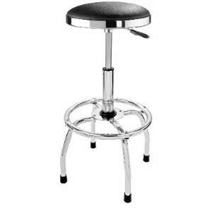 Big Red Pneumatic Professional Series Swivel Stool with Padded Seat