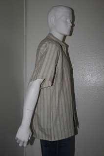 ALBERT NIPON Mens Vtg Short Sleeve Shirt Sz L