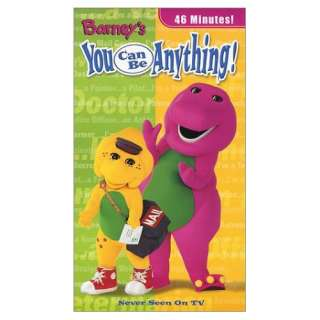 Barney   You Can Be Anything [VHS] Barney, Baby Bop and BJ