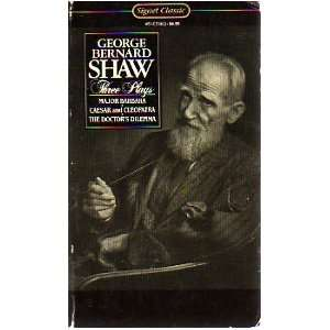 Three Plays (9780451519030) George Bernard Shaw Books