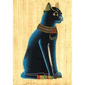 Egyptian Bastet Cat Papyrus Everything Else