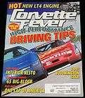 NOVEMBER 1995 CORVETTE FEVER MAGAZINE LT4, 65 BIG BLOCK, 95