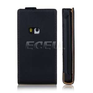LEATHER FLIP CASE COVER FOR NOKIA N9 Cell Phones & Accessories