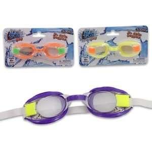 Junior Size Super Swim Googles   Orange