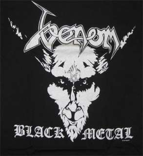 Venom   Black Metal t shirt   Official   FAST SHIP