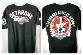 Cain Velasquez Training Camp Dethrone Royalty Premium T shirt NEW