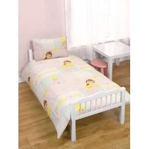 Disney Princess Wishes 4pc Bundle Rotary Junior Cot Bed Duvet Quilt