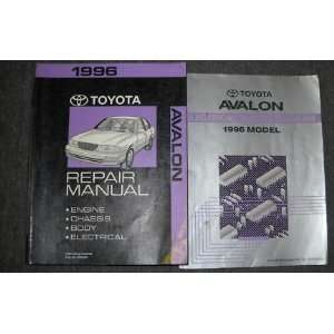 1996 Toyota Avalon Service Repair Shop Manual Set Oem