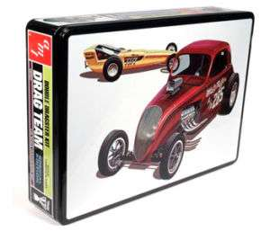 AMT Double Dragster Model Kit & Collectors Tin AMT627
