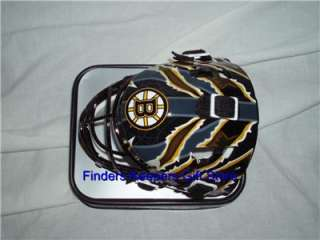 Boston Bruins Helmet Goalie NHL Collectable Merchandise