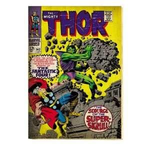 Marvel Comics Retro The Mighty Thor Comic Book Cover #142