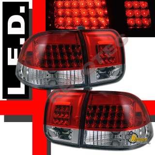 1996 1997 1998 HONDA CIVIC 4DR SEDAN LED TAIL LIGHTS
