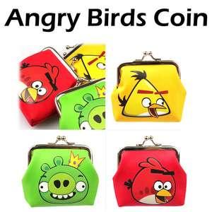 100% SHOP] Angry Birds wallet purse kids boy girl unisex series #1