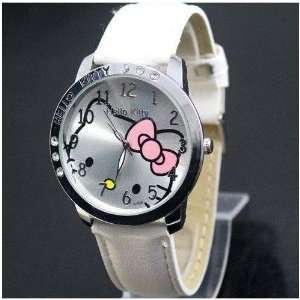 Kitty Classic Ladies Quartz Wrist Watch White