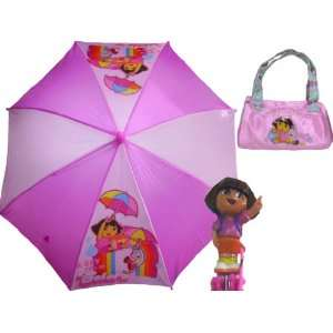 Dora Super Style Umbrella Matching Handbag Toys & Games