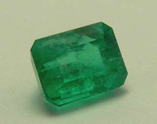 39 CTS NATURAL COLOMBIAN EMERALD CUT