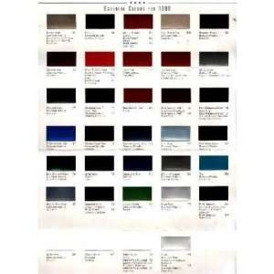 1999 FORD TRUCK Paint Chips [eb7673N] Automotive