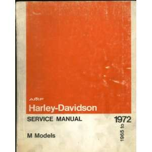 Harley Davidson Service Manual M Models 1965 to 1972 (Part