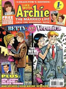 ARCHIE #600 ARCHIE MARRIES VERONICA + LIFE WITH ARCHIE