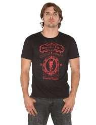 Se7en Deadly Mens Seven Deadly Sins Museum of Fears Black T Shirt