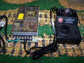 SCALE MEANWELL POWER SUPPLY 6.5 AMPS AND 10 AMP ARISTO CRAFT