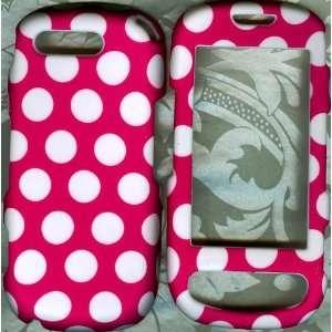 Cute Polka Dot Pink Samsung Highlight SGH T749 phone case
