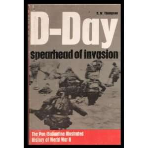 D Day spearhead of invasion ( battle book no. 1