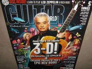 GUITAR WORLD Nov 2010 Led Zeppelin Pink Floyd 3 D TAB