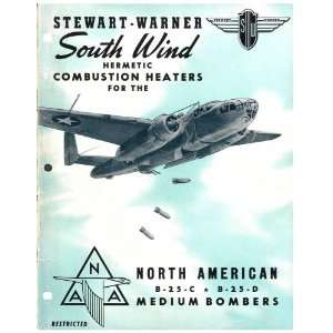 Aviation B 25 Aircraft Heaters Manual North American Aviation Books
