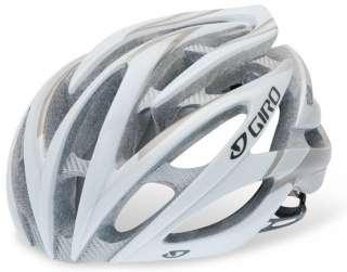 Giro Cycling Helmet Atmos White Silver Road Tri TT