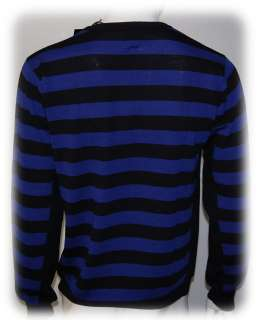 maglia JACK AND JONES uomo *IGOR PULLOVER blu TG XL