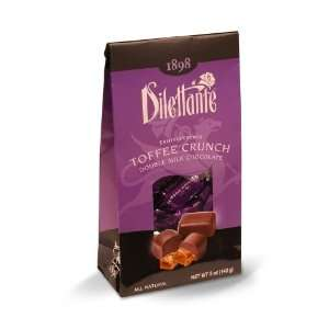 Dilettante Toffee Crunch Truffle Cremes No. 39   5 oz Tent Bag