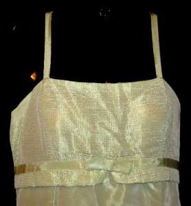 Jessica McClintock Gunne Sax Green Dress Womens 13/14
