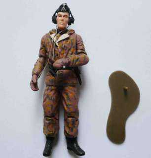Germany WWII trooper soldier action figure RARE! #JU7