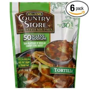 Country Store Soup, Reduced Sodium, Tortilla, 6 Ounce (Pack of 6