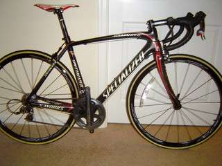 2009 specialized 54cm project black SL2 dura ace & sram red race bike
