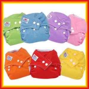 Reusable Size Adjustable Baby Cloth Diaper Nappy 6012B