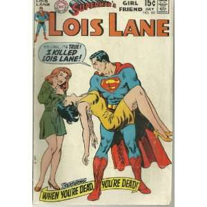 Supermans Girl Friend Lois Lane #102 (Comic Book) Curt Swan Books