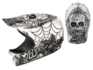 Troy Lee Designs TLD D2 Bicycle Helmet Voodoo White Black Medium Large