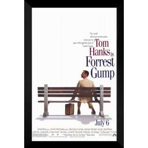 Forrest Gump FRAMED 27x40 Movie Poster Tom Hanks