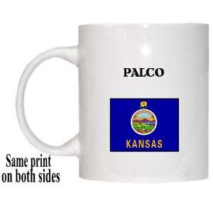 US State Flag   PALCO, Kansas (KS) Mug