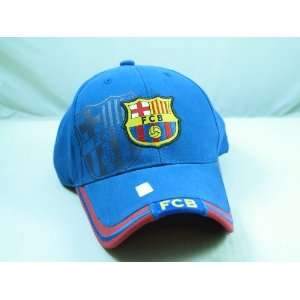 FC BARCELONA OFFICIAL TEAM LOGO CAP / HAT   FCB023 Sports