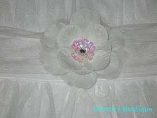 NEW FLOWER GIRL Tulle Bridal Wedding Summer Dress 8